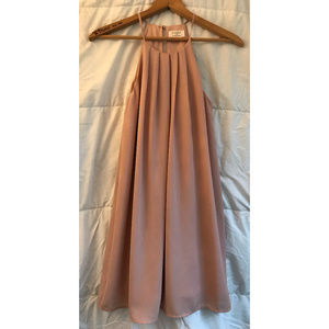 Everly for Francesca's Boutique Blush pink dress